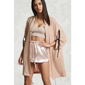 Forever21 trench lightweight utility jacket